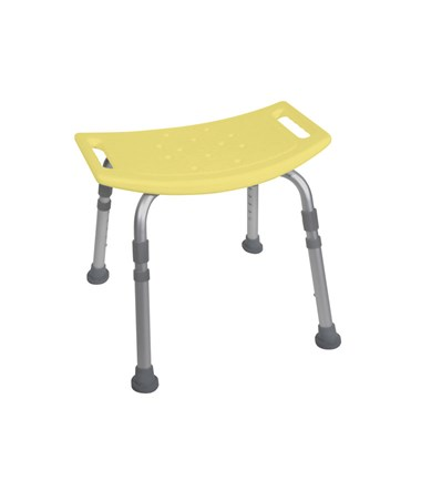"""Drive 12203KDR Bath Bench without Back Yellow"""