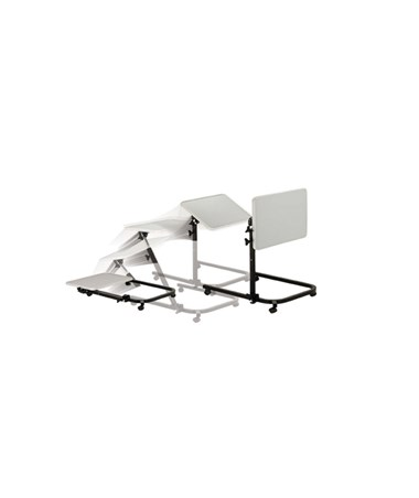 """Drive 13000 Pivot and Tilt Adjustable Overbed Table Tray"""