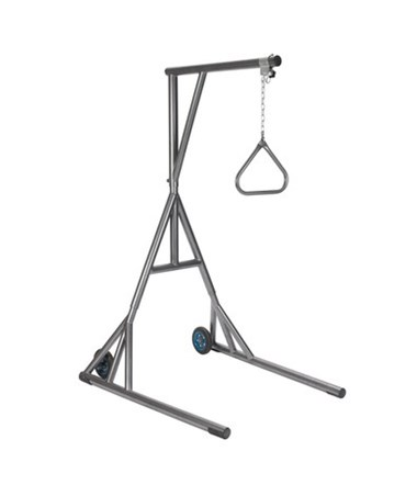 Free Standing Heavy Duty Bariatric Trapeze with Base and Wheels DRI13039