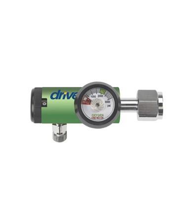 CGA 540 Oxygen Regulator 0-8 LPM DISS Outlet DRI18303GM-