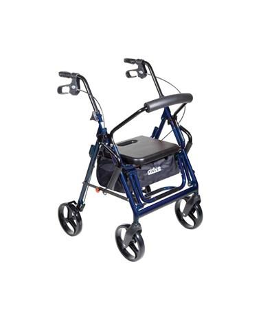 """""""Drive 795b Duet Transport Wheelchair Chair Rollator Walker """""""