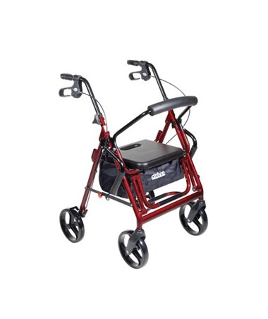 Drive 795B Duet Transport Chair-Rollator