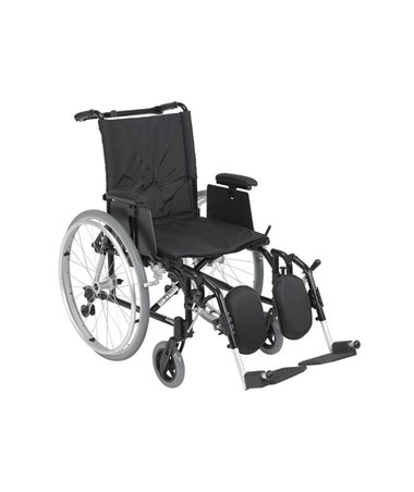 """Drive Cougar Ultra Lightweight Rehab Wheelchair with Elevating Leg rest"""