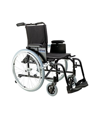 """""""Drive Cougar Ultra Lightweight Rehab Wheelchair with Swing away Footrest"""""""