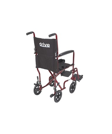 """Drive ATC19-RD	Lightweight Transport Wheelchair"""