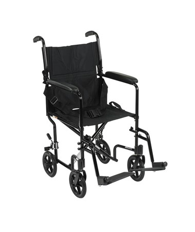 """Drive ATC19-BK 	Lightweight Transport Wheelchair"""