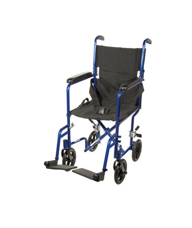 """Drive ATC17-BL 	Lightweight Transport Wheelchair"""
