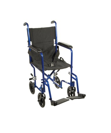 """Drive ATC19-BL 	Lightweight Transport Wheelchair"""
