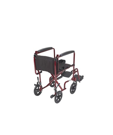 """Drive ATC17-RD 	Lightweight Transport Wheelchair"""