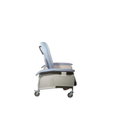 """""""Drive D577-BR Clinical Care Geri Chair Recliner, Blue Ridge"""""""