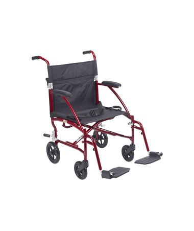 """Drive DFL19-RD Fly-Lite Aluminum Transport Chair  """