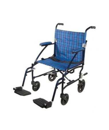 Drive DFL19-BL Fly-Lite Aluminum Transport Chair