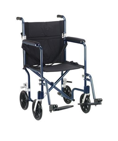 Drive FW17BL Fly-Weight Aluminum Transport Chair