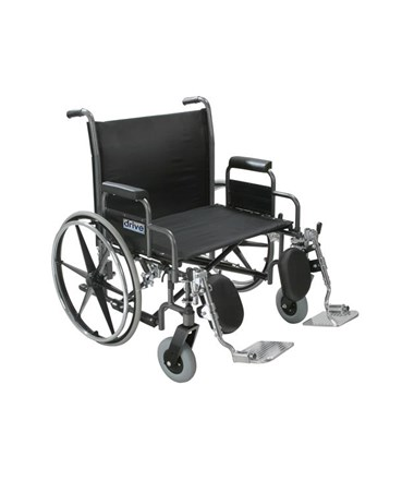 """""""Drive hdelr Front Rigging for Sentra Heavy Duty Wheelchair """""""