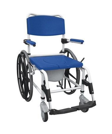 Drive NRS185006 Aluminum Rehab Shower Commode Chair