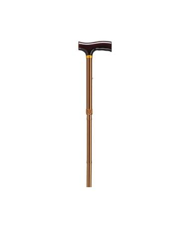"""Drive RTL1030BZA Folding Cane - Bronze"""