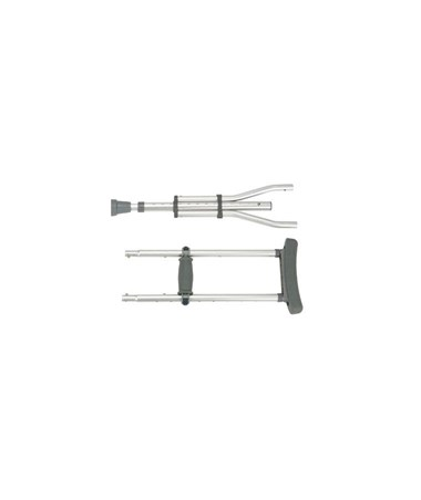"""Drive RTL10433 Knock Down Universal Aluminum Crutches"""