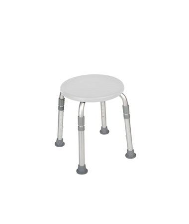 """Drive RTL12004KD K.D. Bath Stool White"""