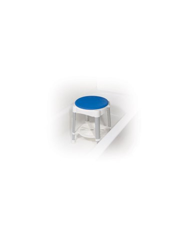 """Drive RTL12061 	Bath Stool with Padded Rotating Seat"""