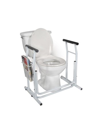 """Drive RTL12079 Stand Alone Toilet Safety Rail"""