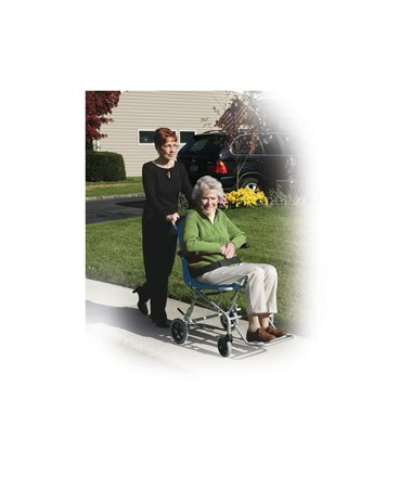 """Drive SL18 Super Light Folding Transport Chair"""
