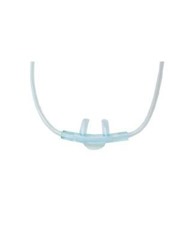 Pediatric Soft Non-Kink Curved Nasal Cannula - 7 Ft. DRISOFT007P
