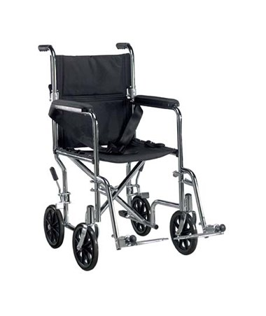 """Drive DRITR17 Deluxe Go-Kart Steel Transport Chair"""
