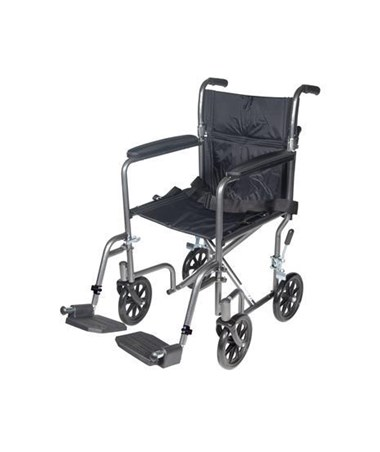 Drive TR39E-SV Lightweight Steel Transport Wheelchair