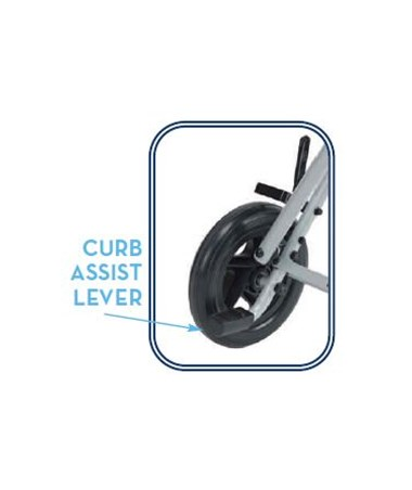 Curb Assist Lever