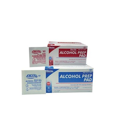 Alcohol Prep Pads DUK852