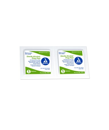 Dynarex 1113 Sterile Alcohol Prep Pads