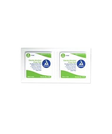 Dynarex 1116 Sterile Alcohol Prep Pads
