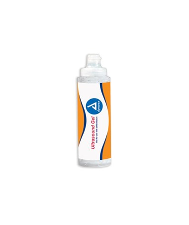 Dynarex 1245 Ultrasound Gel, 0.25 liter (8.5 fl oz) Clear, 12 bottles/case