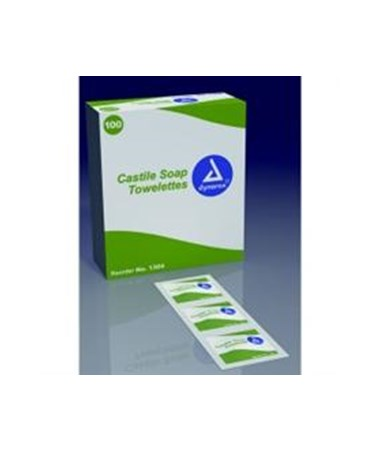 Dynarex 1304 Castile soap wipe