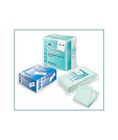 Dynarex #1340, #1341, #1342, #1343, #1346, #1347, #1348 Disposable Underpads