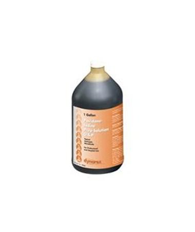 Dynarex #1416 Povidone Iodine Prep Solution, Gallon bottle, 4 bottles/case