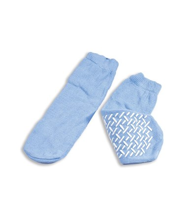 Dynarex #2182 Slipper Socks, Large, Sky Blue 48/case