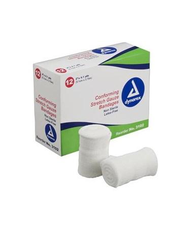 Stretch Gauze Bandage Roll N/S