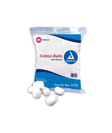 Cotton Ball, Medium, Non-Sterile Copy DYN3170