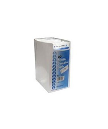 Dynarex #3501 Abdominal Pad, Sterile, 5x9, 1/Pouch, 20 Pads Per Box, 20 Boxes Per Case