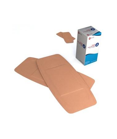 "Dynarex #3614 Adhesive Bandage, Fabric, 2"" x 4.5"", Sterile, 50 Bandages per box, 24  boxes per case"