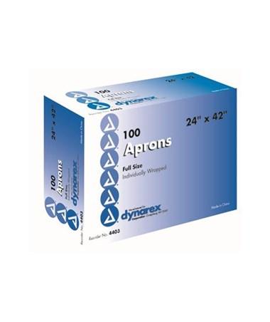 """Polyethylene Apron 24 x  42""""  DYN4403"""