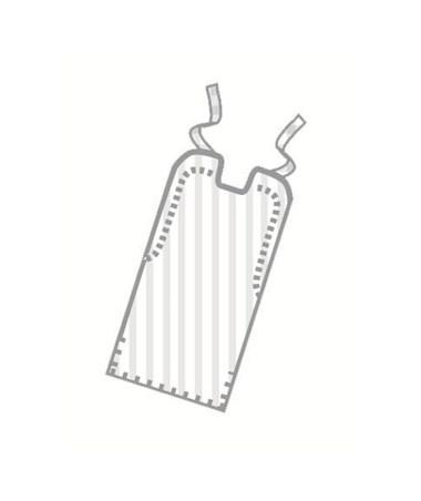 "Paper/Poly Lap Bibs 16"" x 33"", 300 Per Case"
