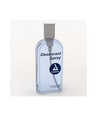 Dynarex #4846 Deodorant, Pump Spray, 4 oz., 48 Per Case