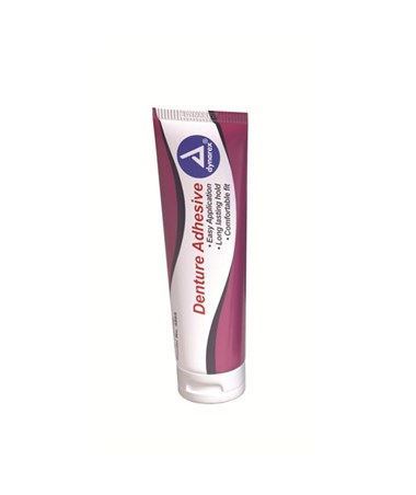 Denture Adhesive, 2 oz. Tube DYN4865