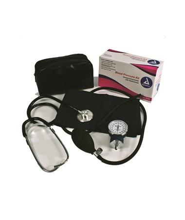 Dynarex #7100 Blood Pressure Kit, Single Head Sthethoscope, 10 per case