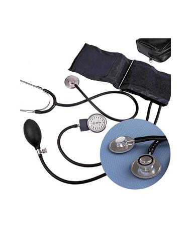 Dynarex #7099 Blood Pressure Kit, Dual Head Sthethoscope, 10 per case