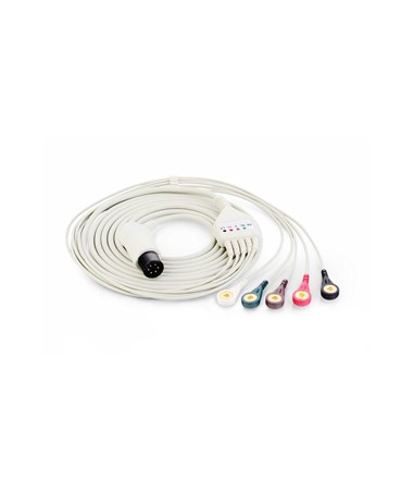 ECG Cable with Leadwires for iM8 Series Patient Monitors EDA01.57.471096-10-