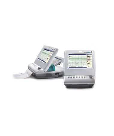 EDAF6 Dual Fetal Monitor - Built-in printer