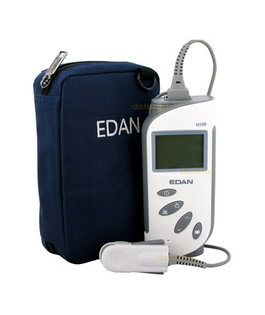 EDAH100B Handheld Pulse Oximeter for SpO2 & PR Measurement - With Carrying Bag